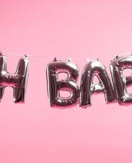 OH BABY - Folieballonger utan helium