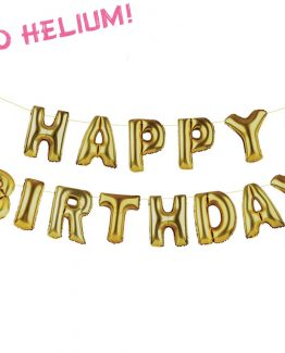 happy birthday ballonger