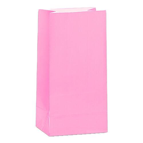 Rosa Godispåsar i papper