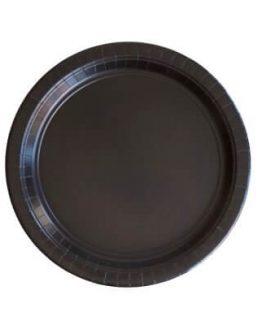 Svarta Papperstallrikar Assietter