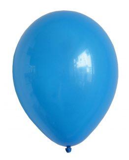 Latex ballong blå