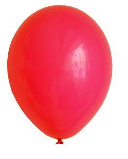 Latex ballong röd