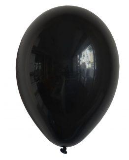 Latex ballong svart