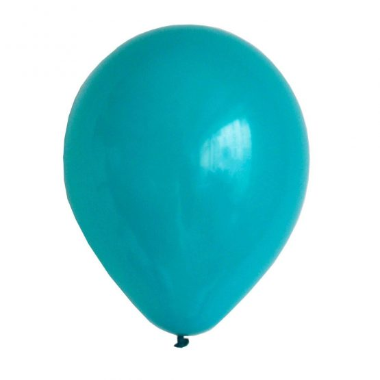 Latex ballong turkos